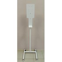Мобильная стойка для дезинфекции рук, белая