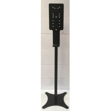Мобильная стойка для дезинфекции рук, чёрная