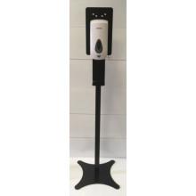 Комплект стойки с сенсорным наливным диспенсером (чёрная)