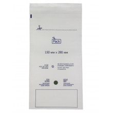 Пакет iPack из бумаги, самоклеящийся 150x280 мм.