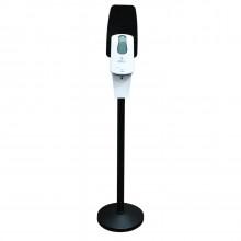Комплект стойки с сенсорным картриджным диспенсером (чёрная)