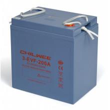 Гелевый аккумулятор Chilwee 3-EVF-200A, 6 Вольт 226 А/ч (С5)