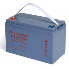 Гелевый аккумулятор Chilwee 6-EVF-100A, 12 Вольт 113 А/ч (С5)