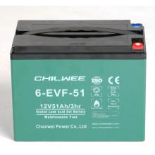 Гелевый  аккумулятор Chilwee 6-EVF-51,12 Вольт 54 А/ч (С5)