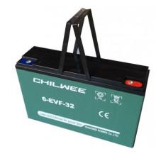 Гелевый аккумулятор Chilwee 6-EVF-32,12 Вольт 34 А/ч (С5)