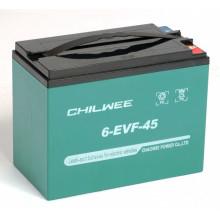 Гелевый аккумулятор Chilwee 6-EVF-45,12 Вольт 47 А/ч (С5)