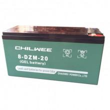 Гелевый аккумулятор Chilwee 8-DZM-20, 16 Вольт 24 А/ч (С5)