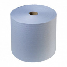 Бумага протирочная из целлюлозы, синия 24х35 см