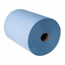 Бумага протирочная из целлюлозы, синия 33х35 см
