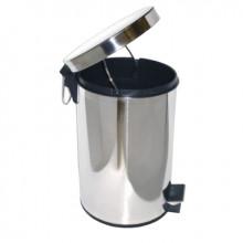 Ведро для мусора с педалью глянцевое, 20 литров