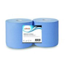 Протирочная бумага Allegrini голубая 3-х слойная, 26х37 см.