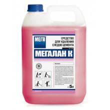 """Для удаления следов цемента """"Мегалан К"""", 5 л."""