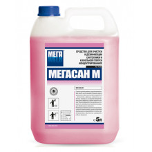 "Для очистки и дезинфекции сантехники (гель) ""Мегасан М"", 5 л."
