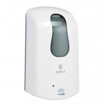 Сенсорный диспенсер Binele для жидкого мыла, белый 1 л