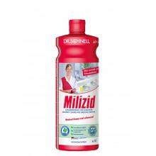 MILIZID  - Кислотное средство для очистки санитарных зон, 1л