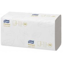 Листовые полотенца  ТОРК Multifold  Premium 2 сл./ 100 л.