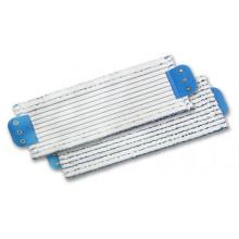 Моп для влажной уборки TTS с держателями в полоску